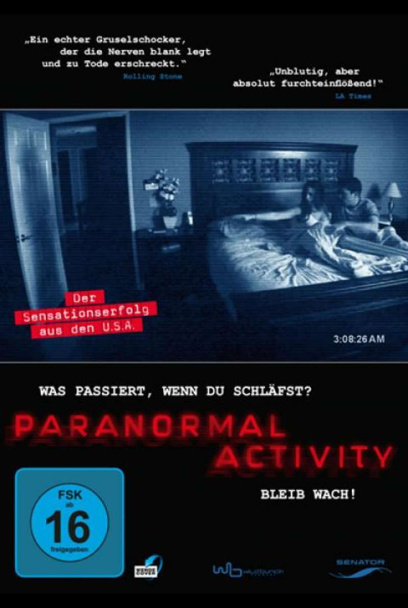 Paranormal Activity - DVD-Cover