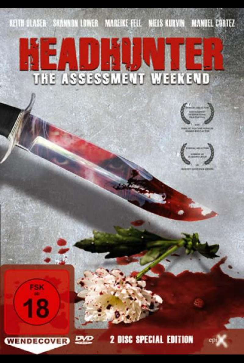 Headhunter - The Assessment Weekend - DVD-Cover
