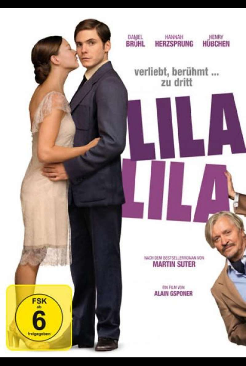 Lila, Lila - DVD-Cover