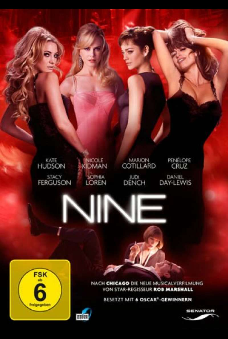 Nine - DVD-Cover