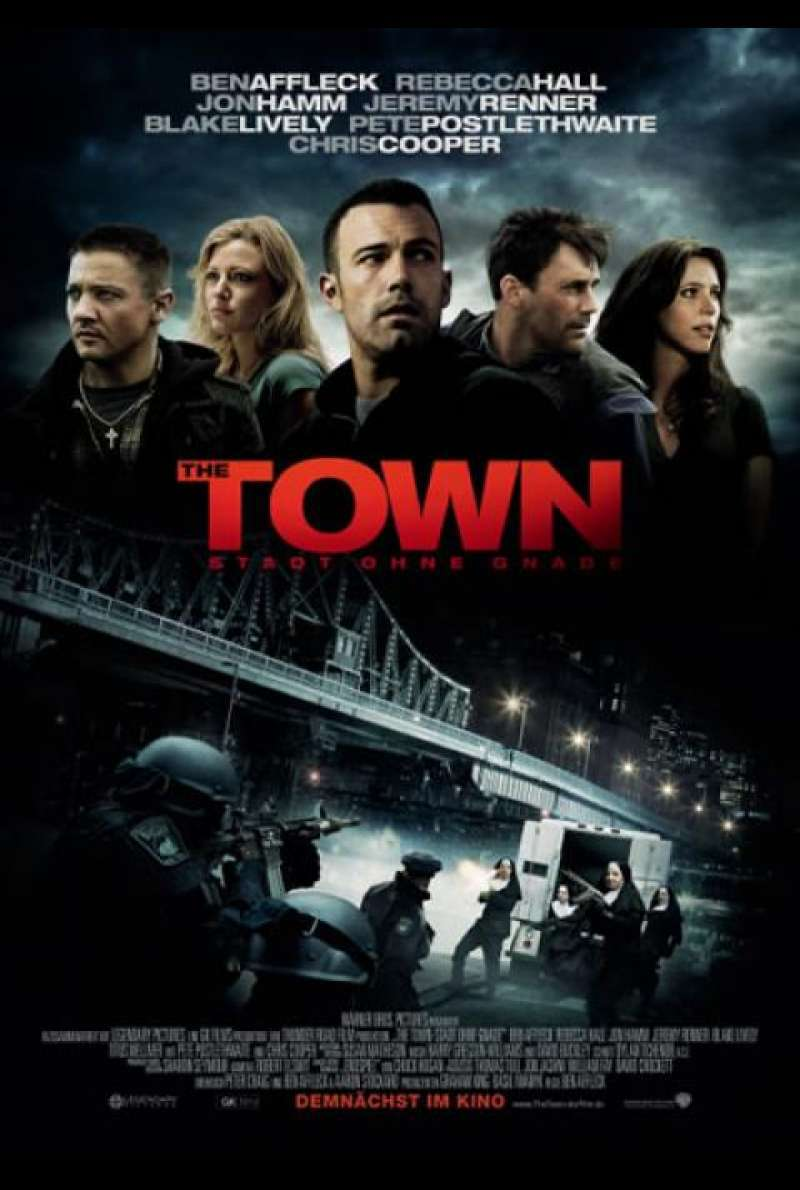 The Town - Stadt ohne Gnade - Filmplakat