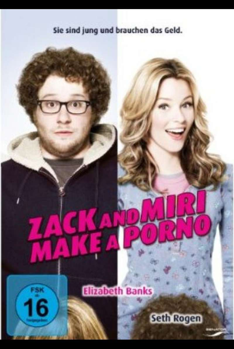 Zack and Miri Make a Porno - DVD-Cover