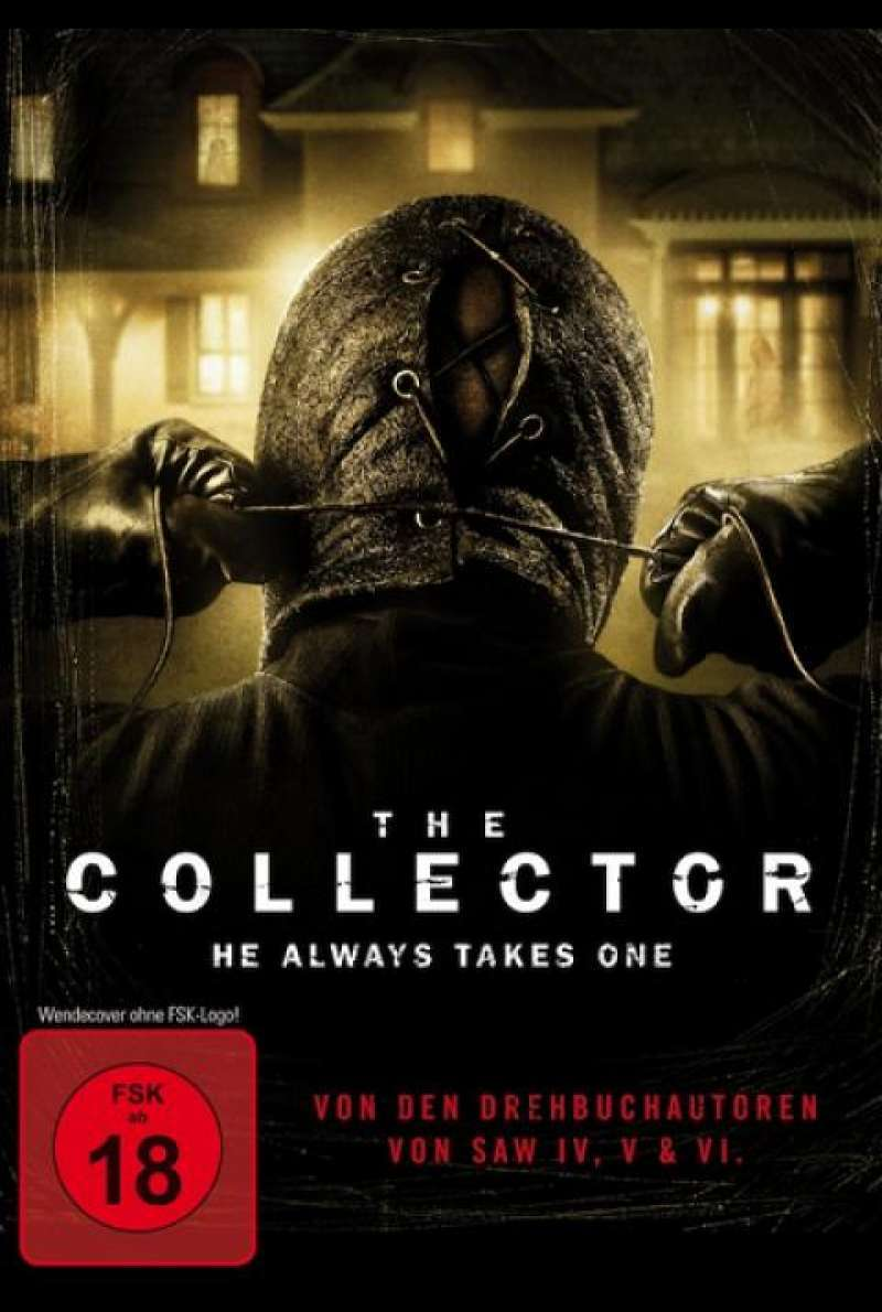 The Collector - He always Takes One - DVD-Cover