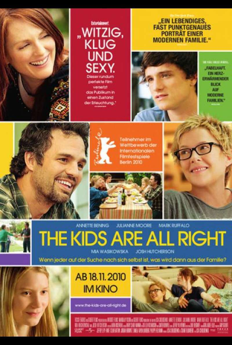 The Kids Are All Right - Filmplakat