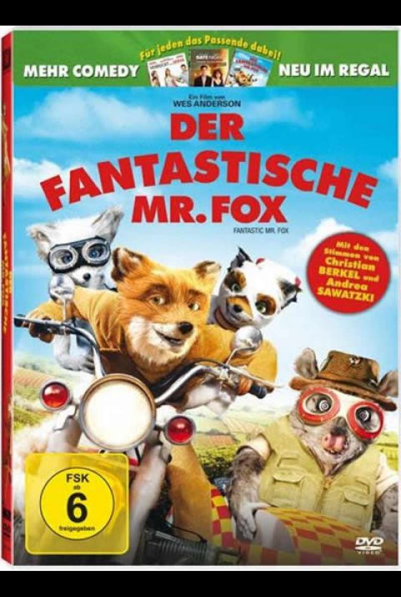 Der fantastische Mr. Fox - DVD-Cover