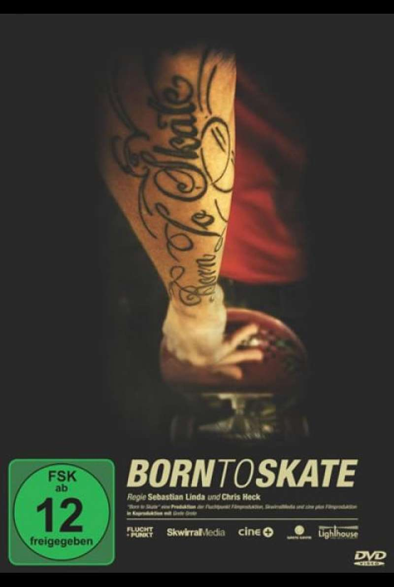Born To Skate - DVD-Cover