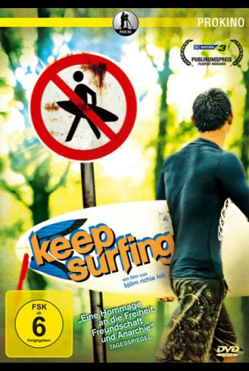 Keep Surfing - DVD-Cover