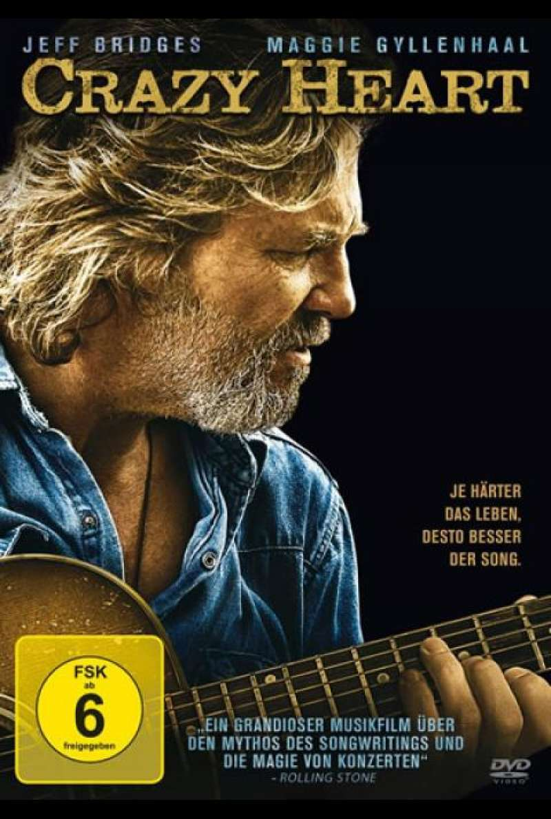 Crazy Heart - DVD-Cover