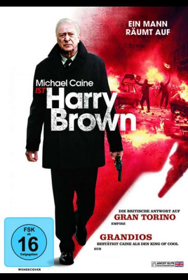 Harry Brown - DVD-Cover
