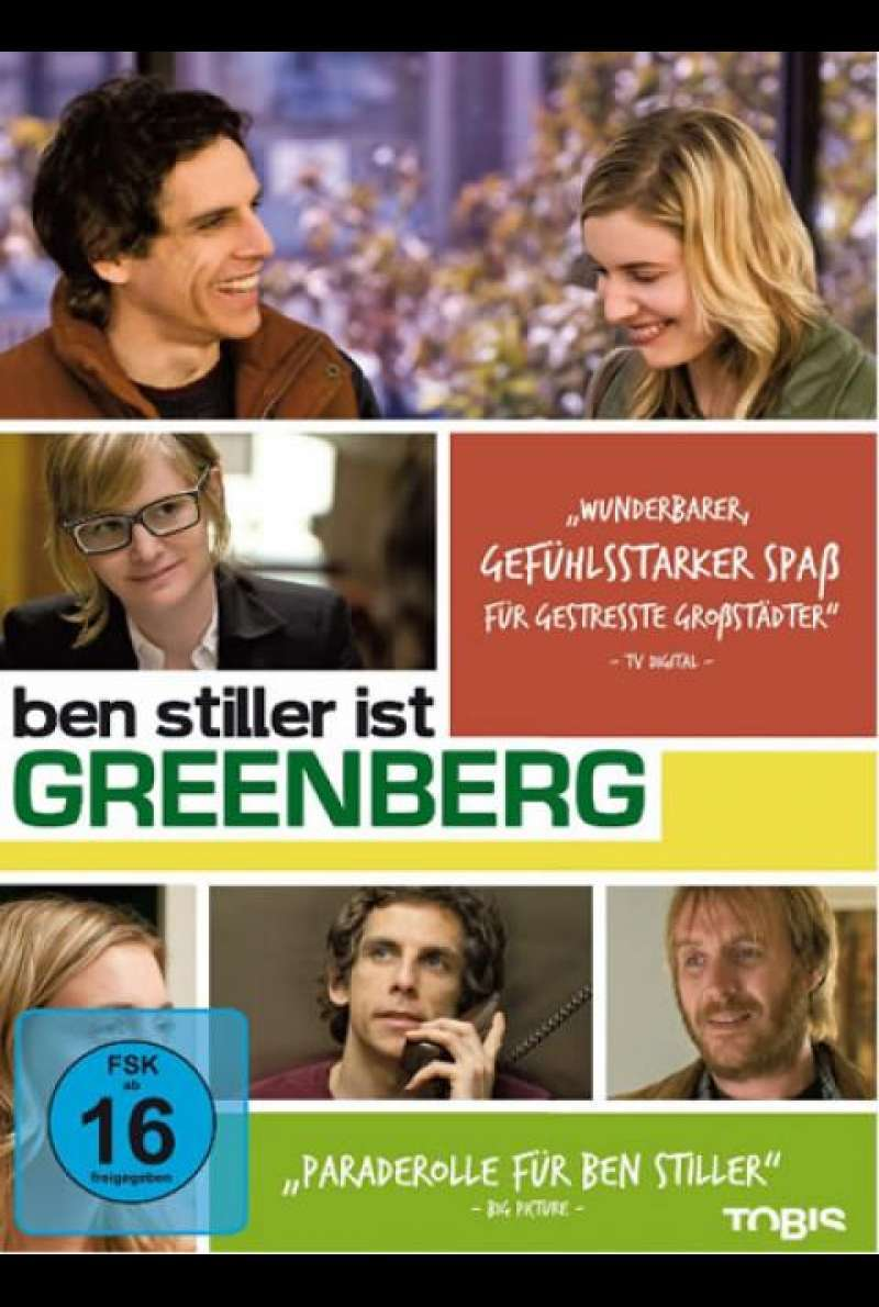 Greenberg - DVD-Cover