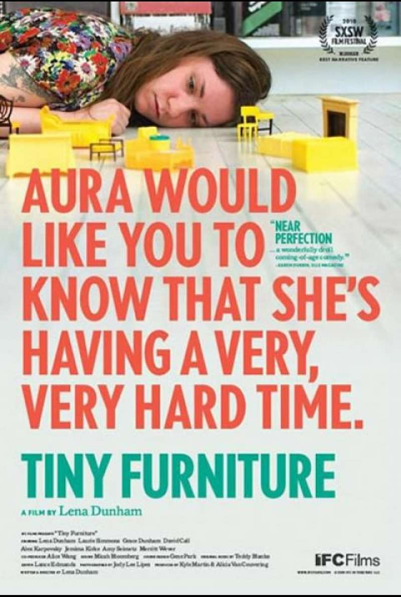 Tiny Furniture - Filmplakat (US)