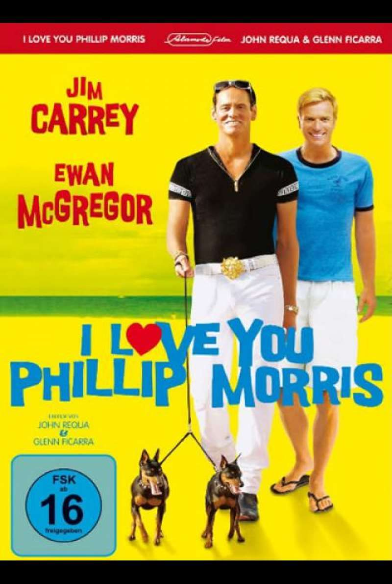 I Love You Phillip Morris - DVD-Cover