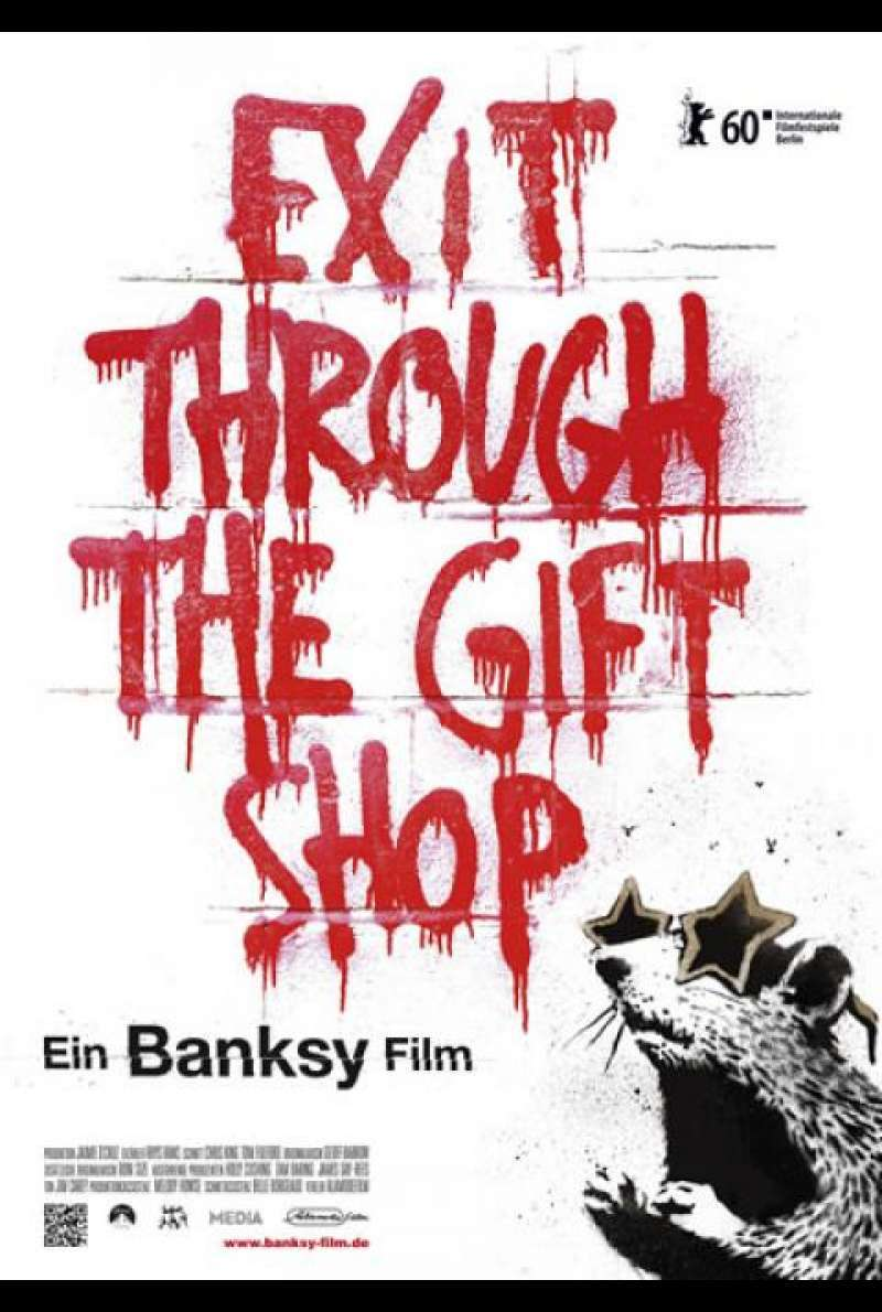 Banksy - Exit Through the Gift Shop - Filmplakat
