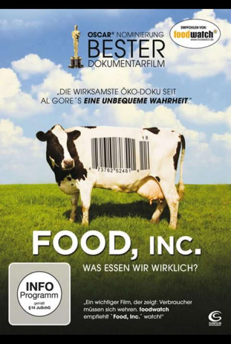 Food, Inc. - DVD-Cover