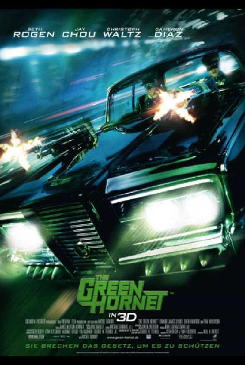 The Green Hornet - Filmplakat