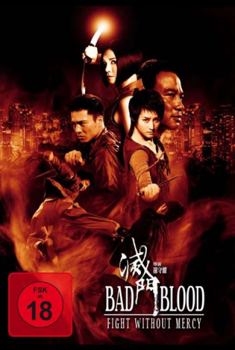 Bad Blood - Fight Without Mercy - DVD-Cover
