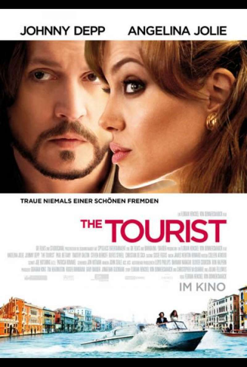 The Tourist - Filmplakat