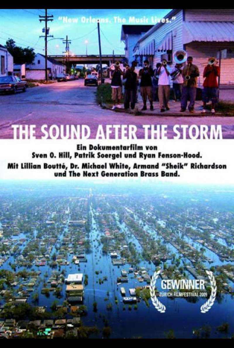 The Sound After The Storm - Filmplakat