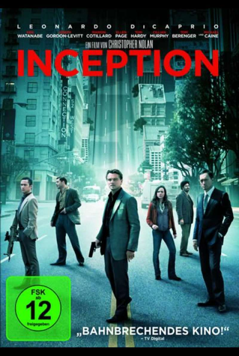 Inception - DVD-Cover