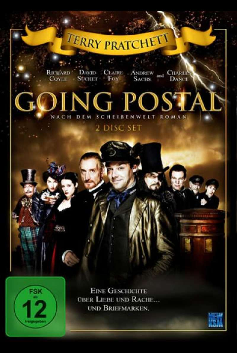 Going Postal - DVD-Cover