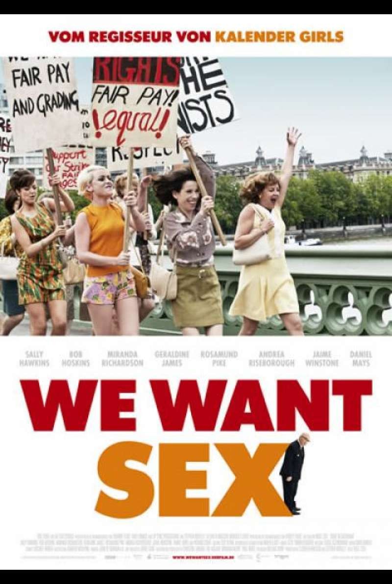 We Want Sex - Filmplakat