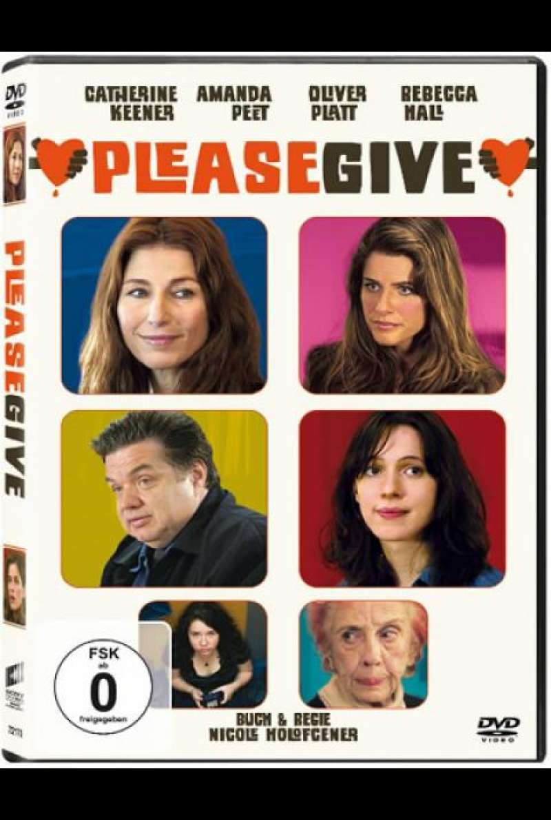 Please Give - DVD-Cover