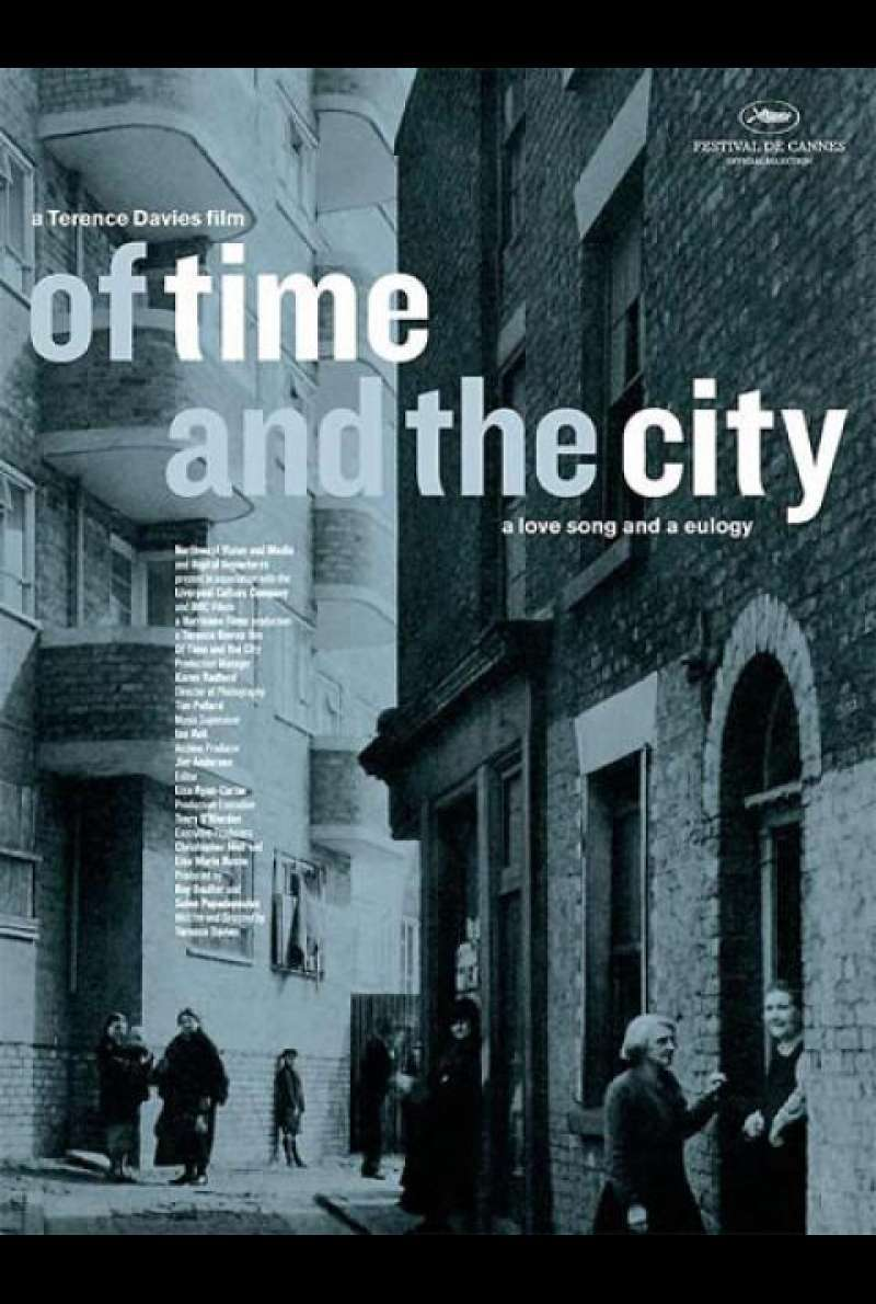 Of Time and the City - Filmplakat (GB)