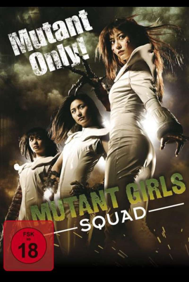 Mutant Girls Squad - DVD-Cover