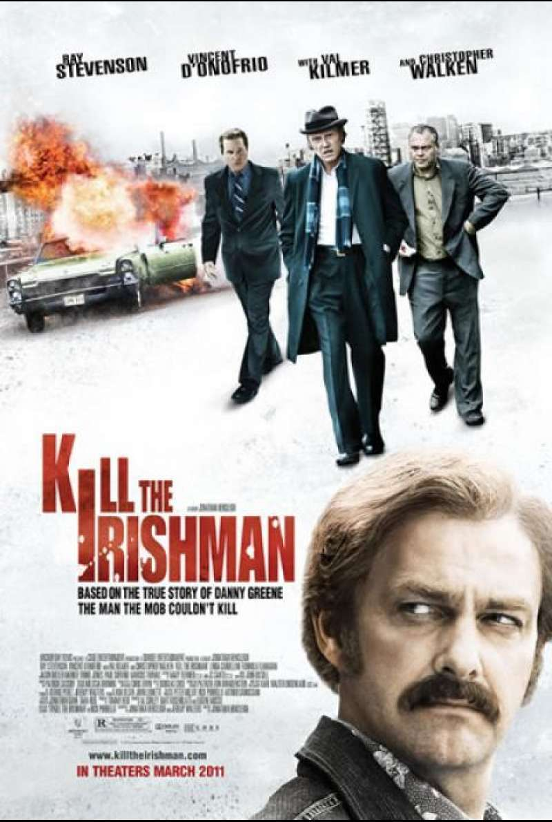 Kill the Irishman - Filmplakat (US)