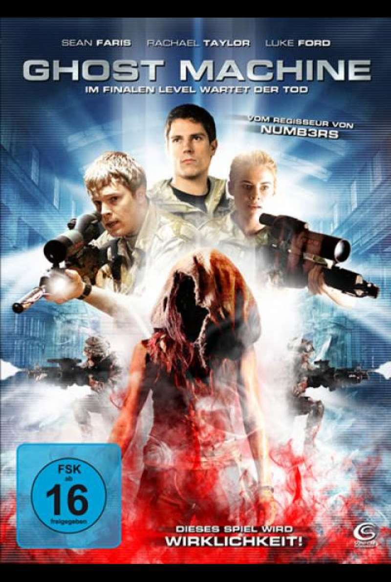 Ghost Machine - DVD-Cover