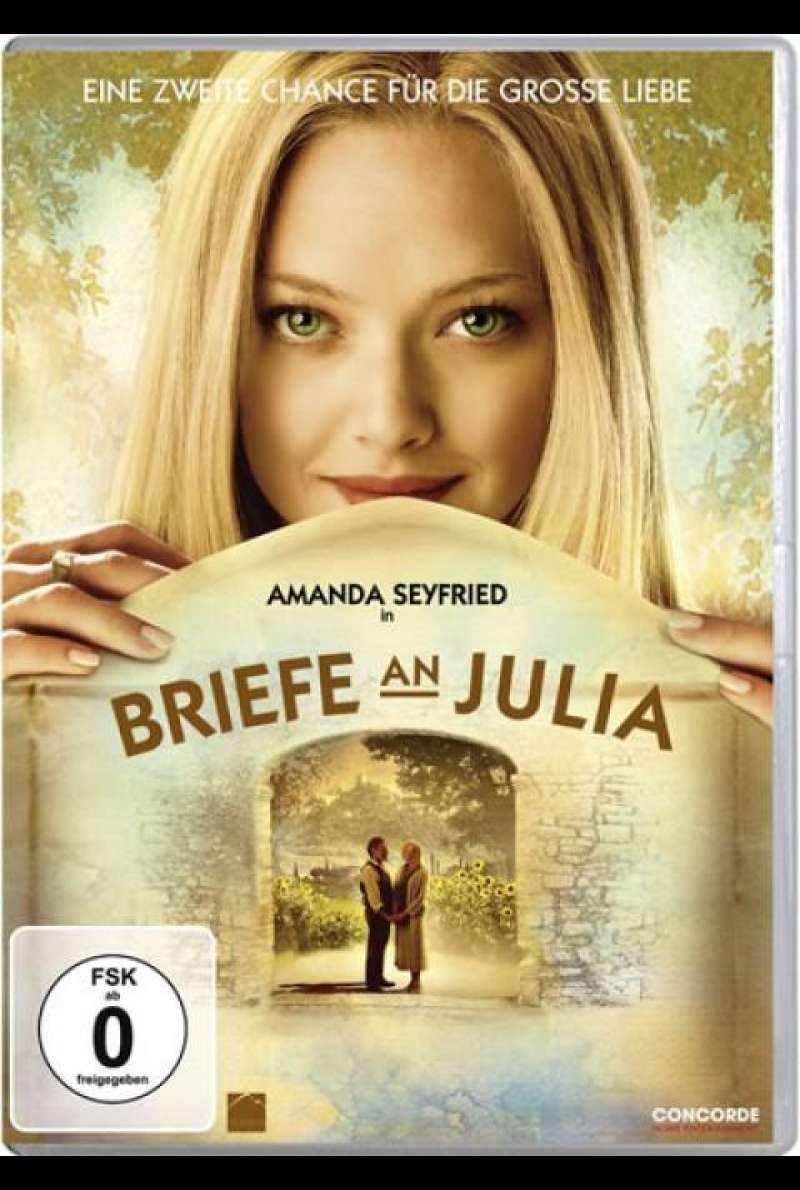Briefe an Julia - DVD-Cover