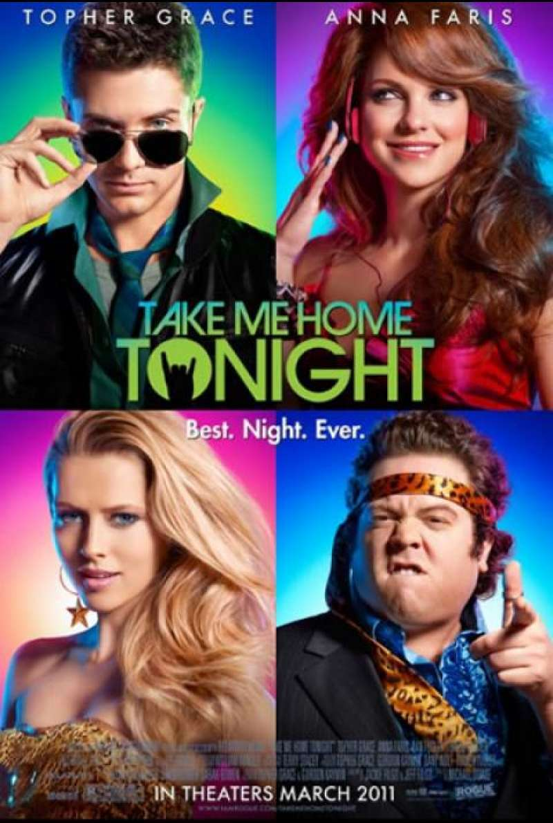 Take Me Home Tonight - Filmplakat (US)