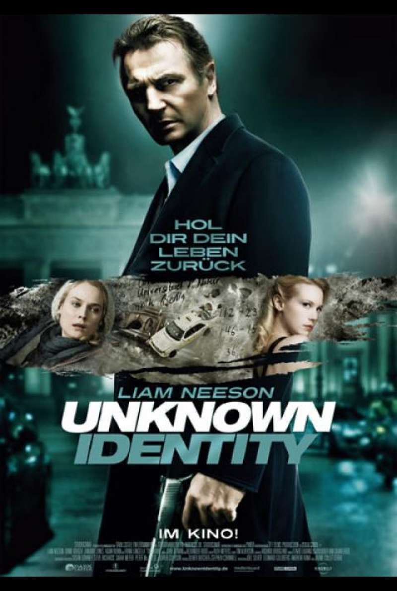 Unknown Identity - Filmplakat