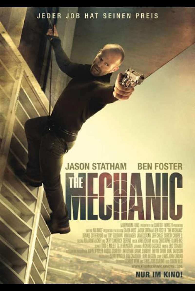 The Mechanic - Filmplakat