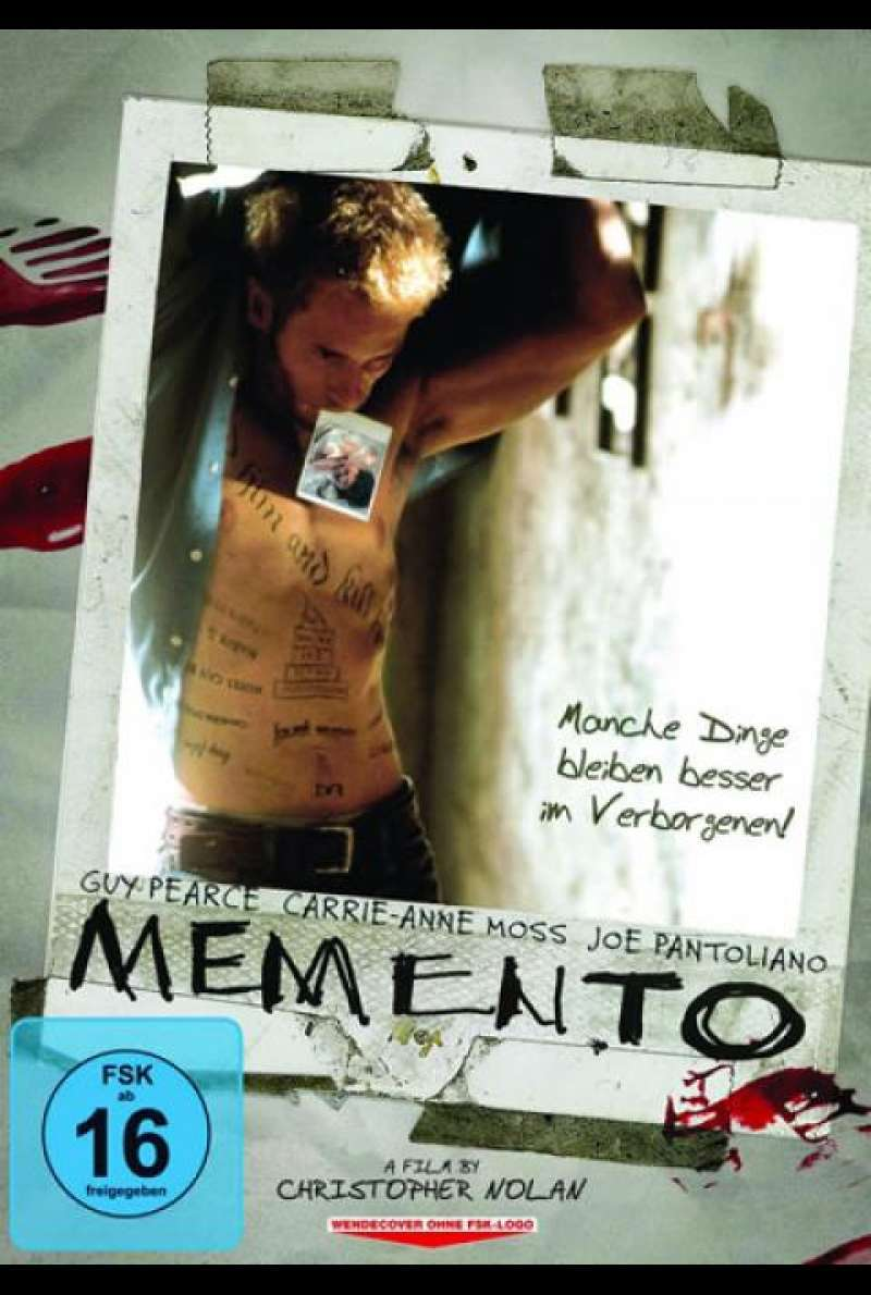 Memento - DVD-Cover
