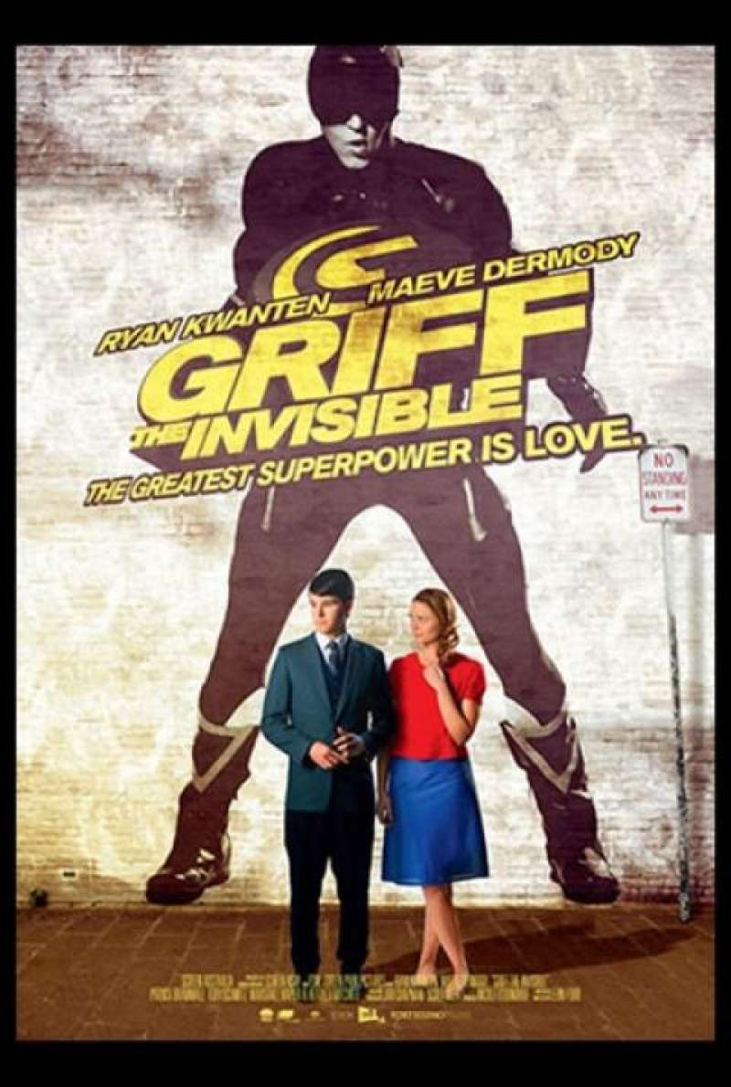 Griff the Invisible - Filmplakat (AUS)