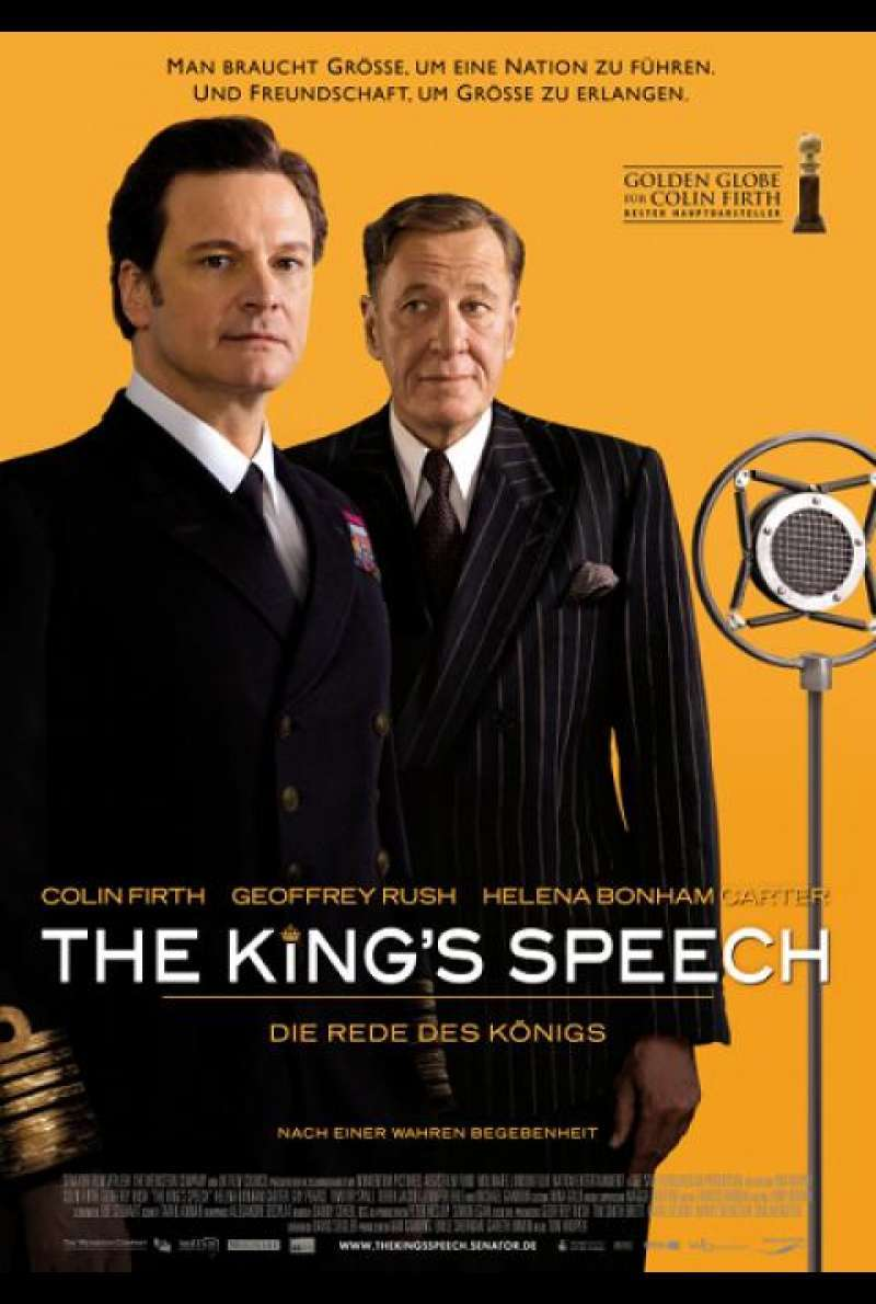The King's Speech - Filmplakat