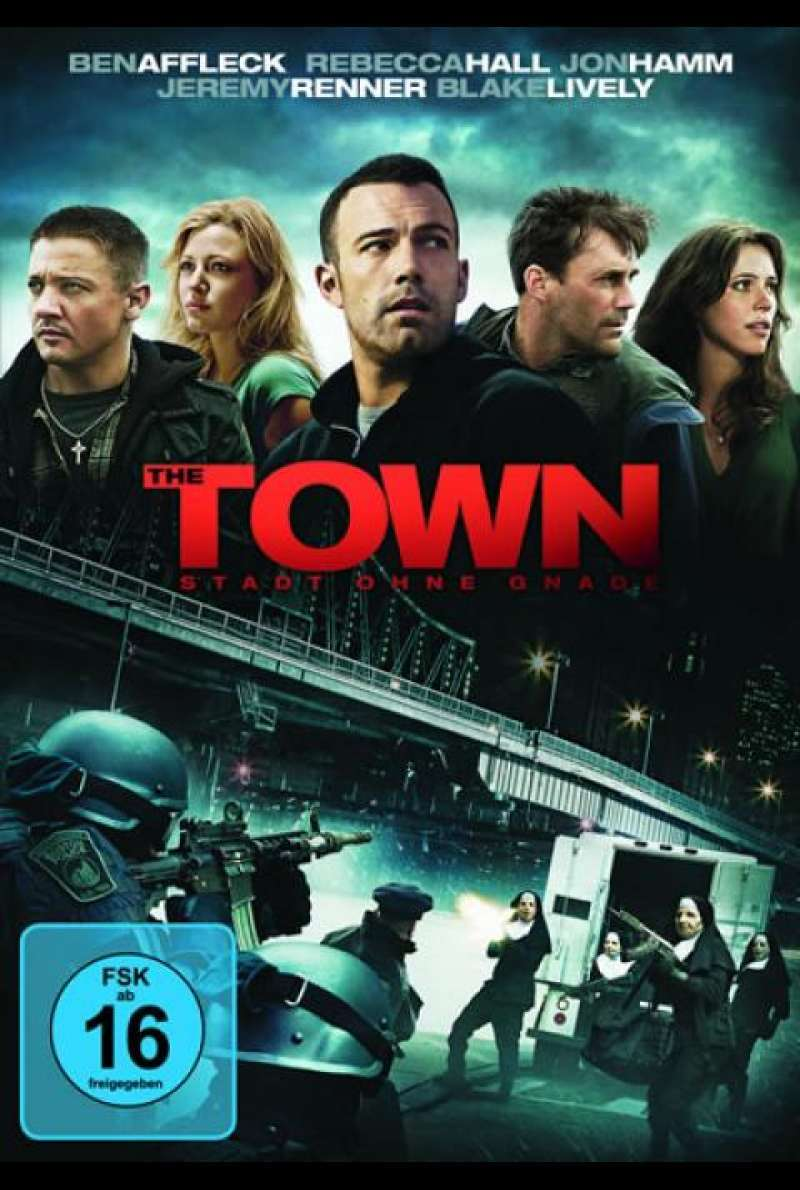 The Town - Stadt ohne Gnade - DVD-Cover