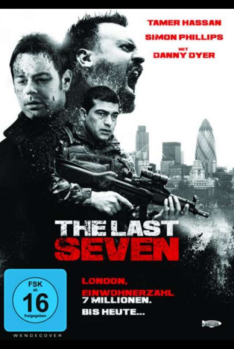 The Last Seven - DVD-Cover