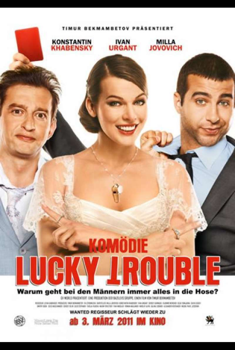 Lucky Trouble - Filmplakat