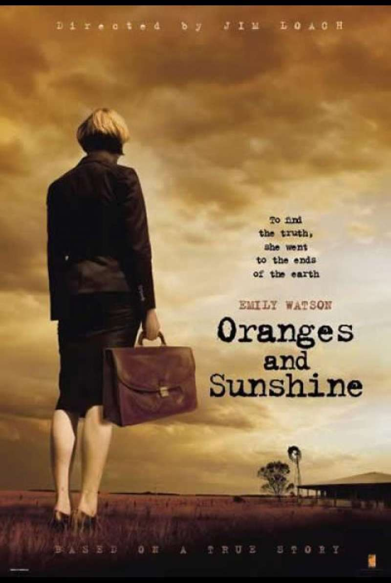 Oranges and Sunshine - Filmplakat (GB)