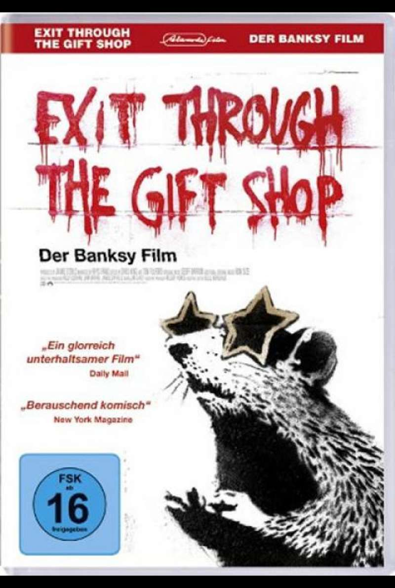 Banksy - Exit Through the Gift Shop - DVD-Cover