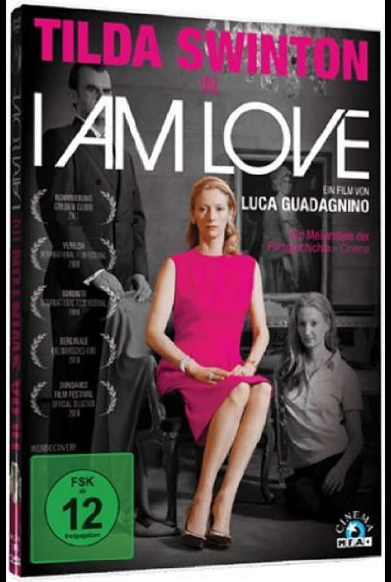 I Am Love - DVD-Cover