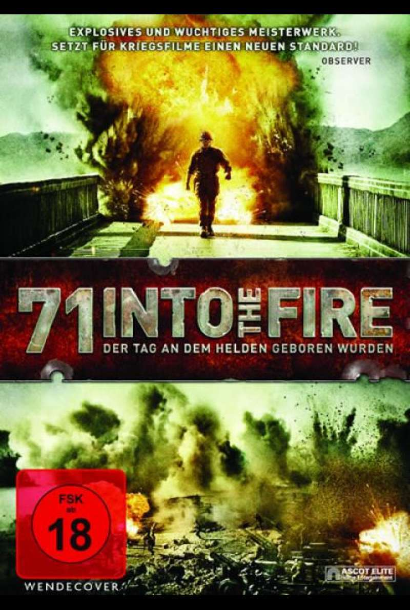 71 - Into the Fire - DVD-Cover