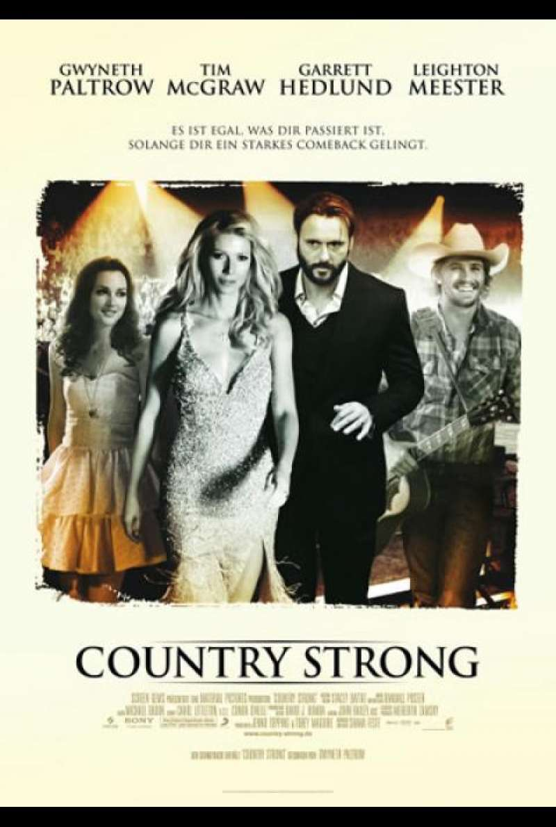 Country Strong - Filmplakat