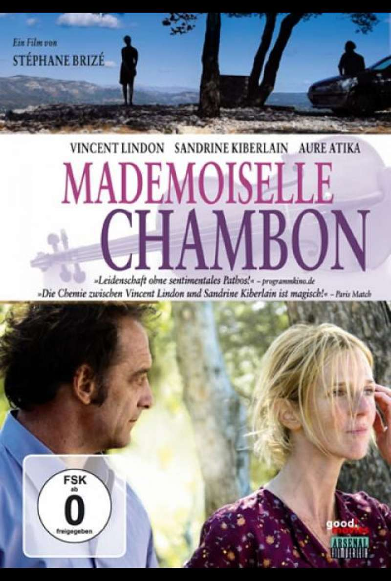 Mademoiselle Chambon - DVD-Cover