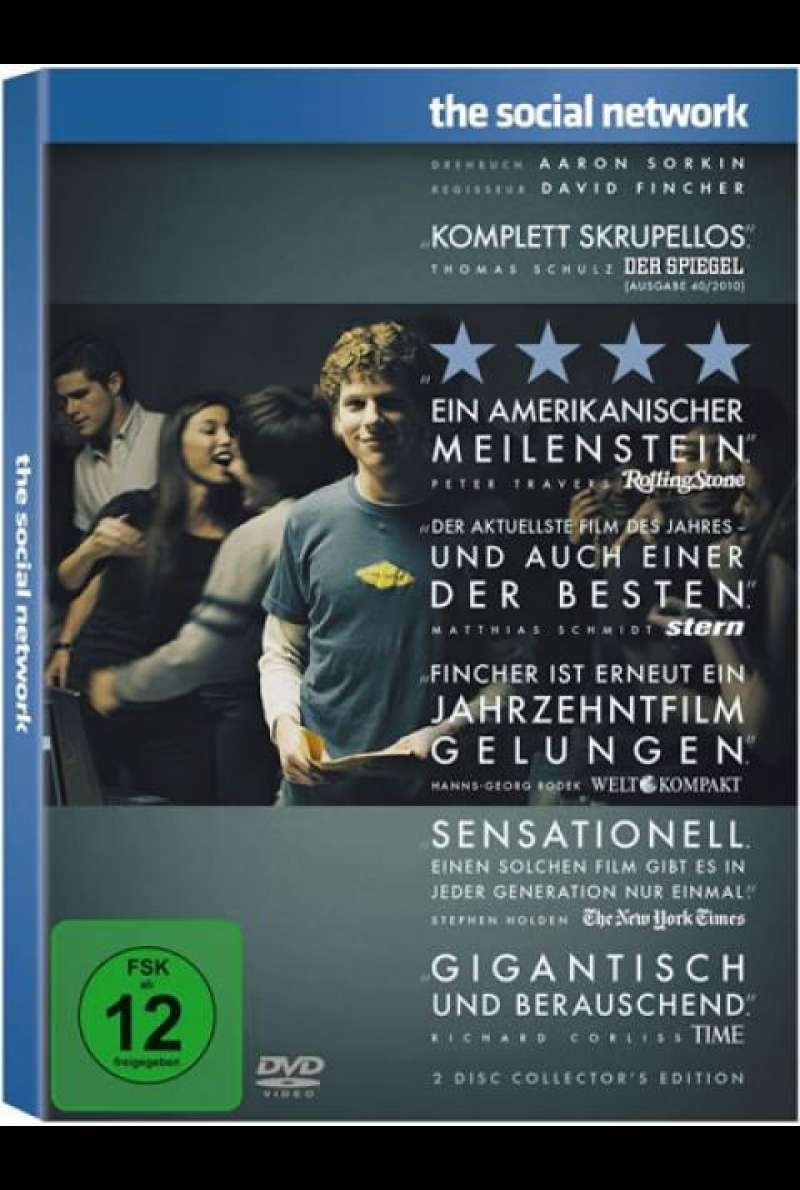 The Social Network - DVD-Cover