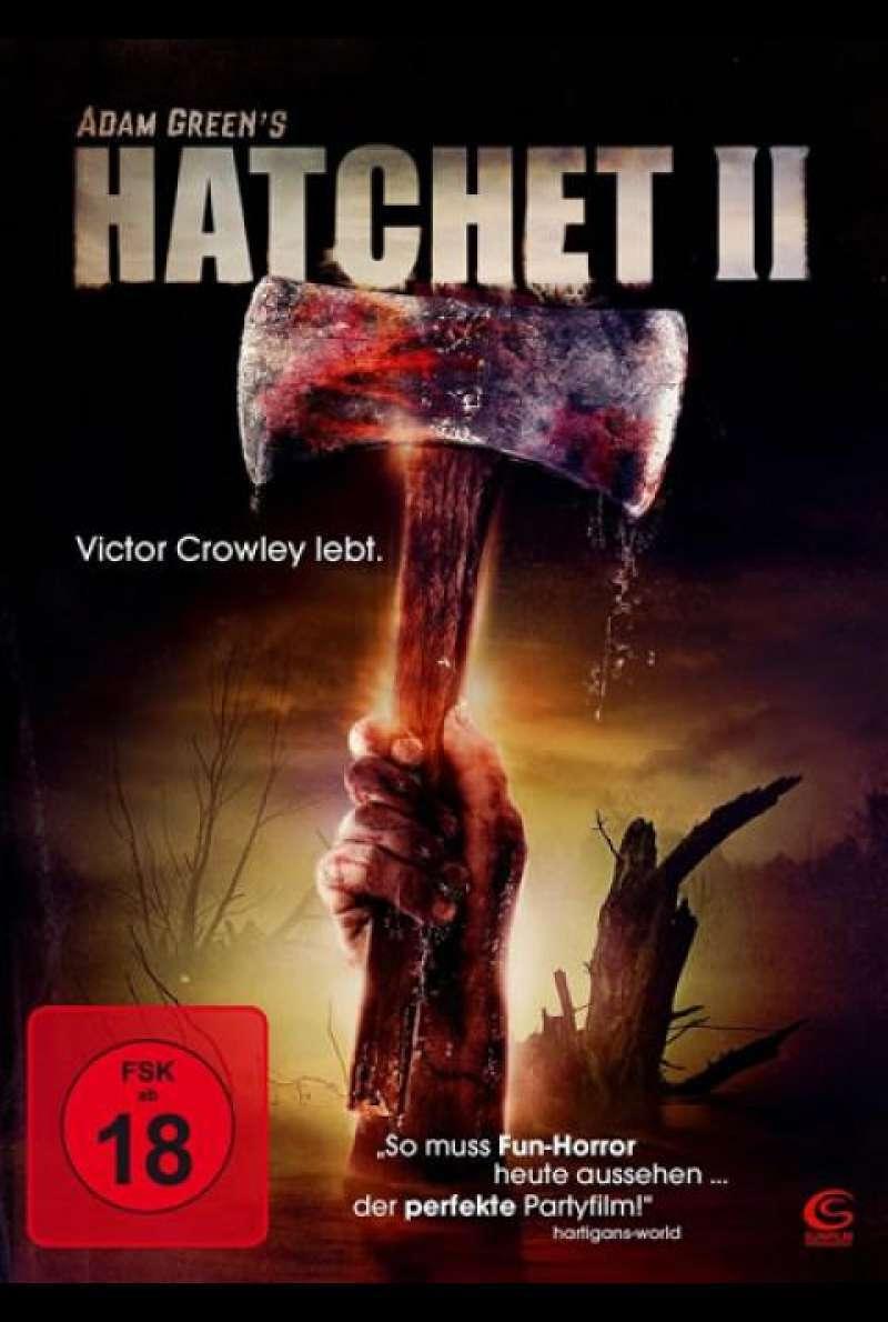 Hatchet 2 - DVD-Cover