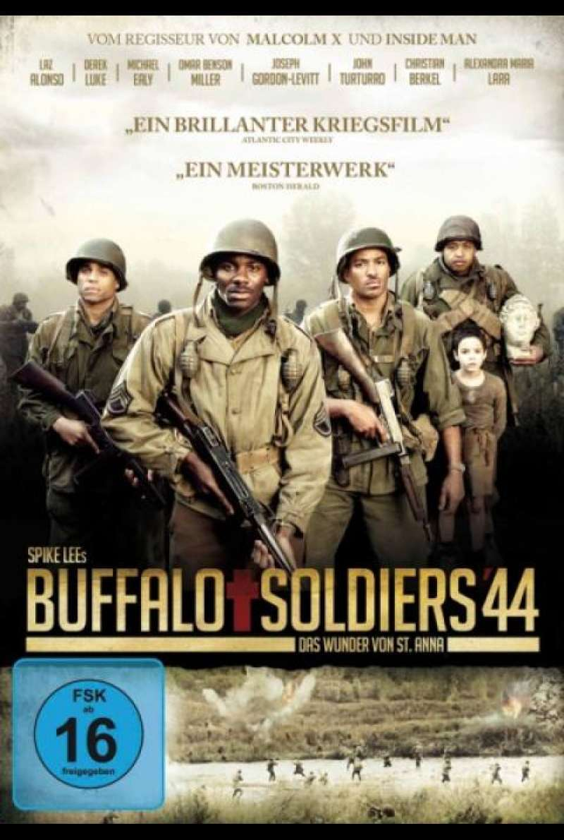Buffalo Soldiers 44 von Spike Lee - DVD-Cover