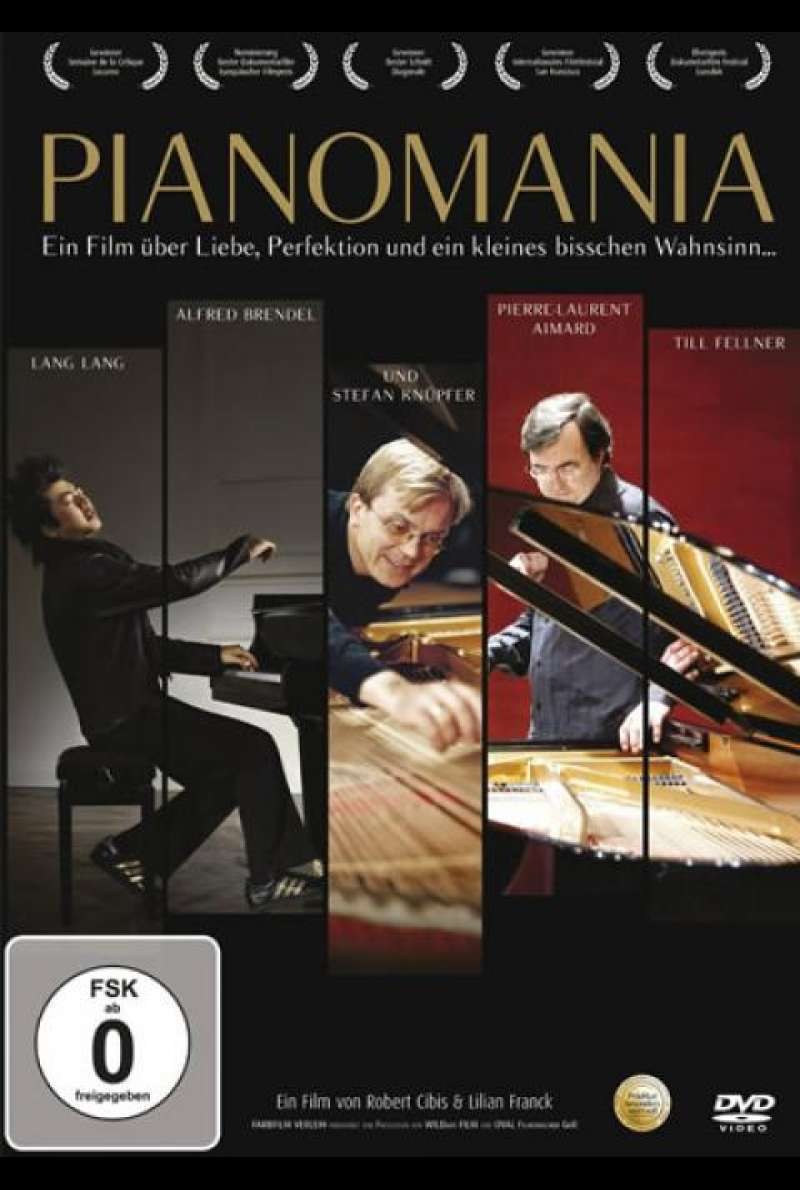 Pianomania - DVD-Cover